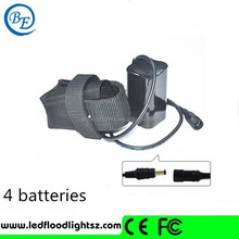 Real Power Charger 8.4v 6400mAh Recyclable Bike Light Battery Pack with 4 18650 Cells