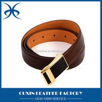Fashion real leather mexican leather belt for men, leather belt factory