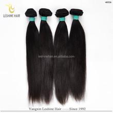 Good Feedback Golden Supplier 100% Human Hair Weave Unprocessed No Shedding guangzhou egyptian hair extension