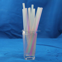 color crazy plastic drinking curly loop straws