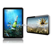 22 inch wall mount lcd digital photo frame support 1080p HD video, HDMI in, AV in
