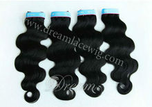 Hot Selling Natural Color Body Wave 100% Chinese Remy Hair Extension.