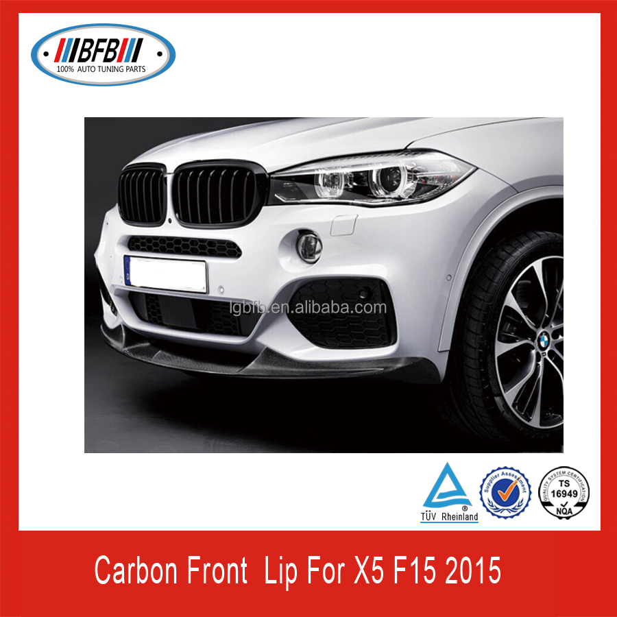 Carbon Front Spoiler Fit For Bmw X5 F15 M Performance
