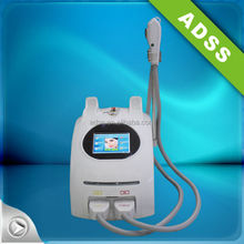 SHR elight hair removal salon use with 2 handpieces