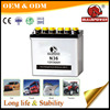 Best price N36 12v 36ah dry charged car battery factory price