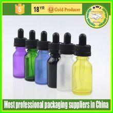 5 ml clear/amber/blue glass argan oil bottle child safe and tamper evident cap
