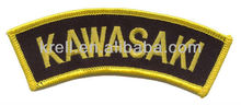 embroidered patch Custom_patches_are_welcome with high quality and fast delivery