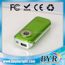 solar power bank for mobile phone 3600mAH with Dual Output