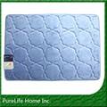 De espuma de memoria de bambú personalizado de fibra de la alfombra de baño para el piso esteras/alfombrillas