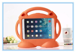 Novel portable design Cute Smiling Face Shockproof EVA Case for iPad Air 2