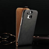 2014 Best Selling Products Smart VIP Mobile Phone Shell Case Made of High Quality Leather Good Taste for HTC One M8