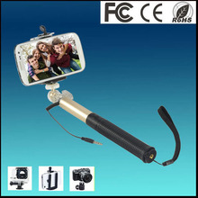 Essential small bluetooth selfie monopod with bluetooth remote shutter