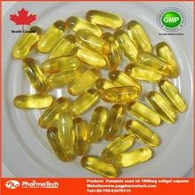 oem chinês benefícios cápsulas de semente de abóbora óleo