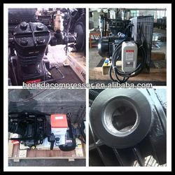 12V 15A 180W metal car with LED Light CE certificated Booster 175CFM 508PSI 25HP air compressor