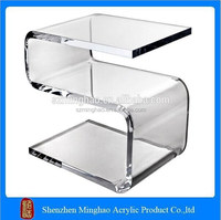 Elegant design Cheap S poker table, high quality acrylic dining table