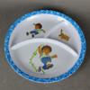 Melamine separate plate