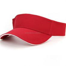 custom cotton sun visor hat/running caps/Golf cap wholesale