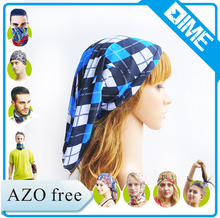 2016 Hot Magic Seamless Tube Blue Arabic Headwear