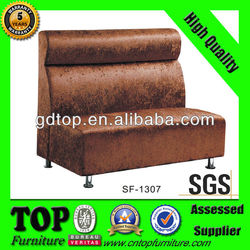 modern design wooden restaurant sofa SF-1307