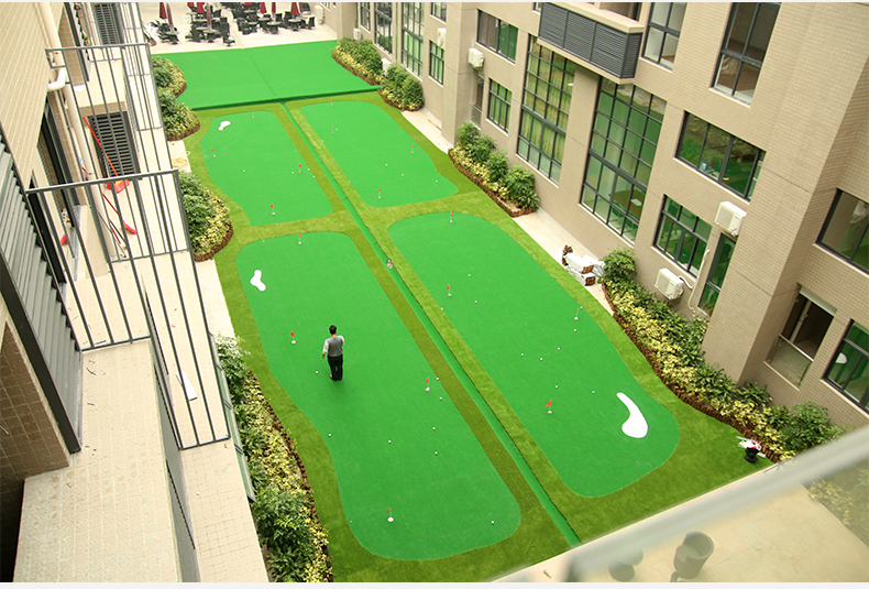 Customized Made Golf Green Indoor Putting Green Golf Course - Buy ...