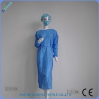 Cheap health care products factory price disposable maternity hospital gowns