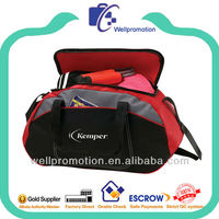 Wellpromotion 2014 fancy design sport bags high quality