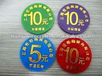 plastic PS or acrylic custom cheap custom poker chips for sale