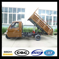SBDM China Moto Cargo Tricycle With Cabin Closed