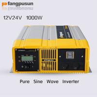 1000w Intelligent solar battery management 12v 220v pure sine wave inverter