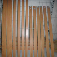 curved wooden slats firniture parts