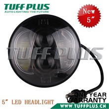 New product 5 inch round led high low beam headlight for motorcycle