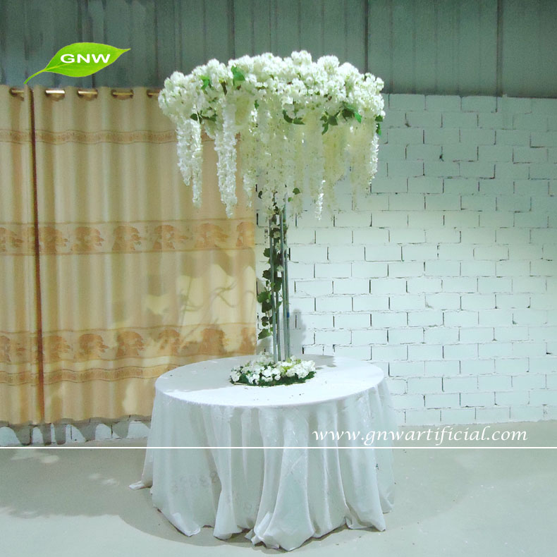Gnw Ctr1503 Artificial Flower Trees Wedding Table Centerpieces Buy