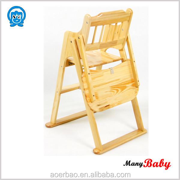 2015 r glable pliante en bois enfants chaise haute pliant b b chaise d 39 alimentation b b. Black Bedroom Furniture Sets. Home Design Ideas