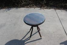 Small modern furniture design handmade wicker round table
