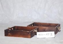 brown antique storage box