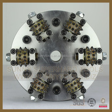 Diamondused grinding tool machine Rotary Bush Hammer rollers Tool for marble or granit or stone
