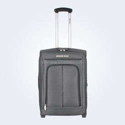 2 in-line wheels cases and trolley systerm with a push button luggage