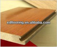 12mm HDF piso laminado de madeira
