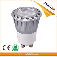 Aluminum CE RoHS GU10 MR11 LED Spot Light 3W 5W
