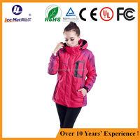 Battery Powered Woman Waterproof Slim Rechargeable Electric Heating hunting jacket