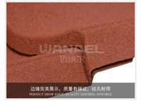 Wanael decorative metal roof tile/anti-uv stone chips coated roof sheet/roofing for parking
