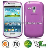 TPU Gel Case / Cover for Samsung i8190 Galaxy S3 Mini