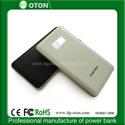 2015 newest high quality power bank with LCD display, mobile power bank 8000mAh