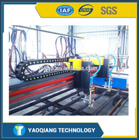 CNC Flame and Plasma Used Cutting Machine with Simes System
