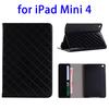 mobile decorative accessories leather case cover for iPad mini 4