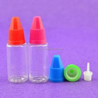 bullet-shaped childproof cap dropper bottles
