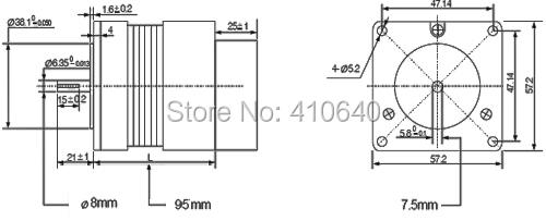 in stock leadshine blm57130 nema 23 180w brushless dc
