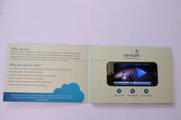 customized lcd video greeting card