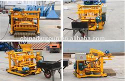 Soil cement manual operated cement block making machine