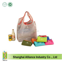 Factory OEM Reusable Foldable Shopping Nylon Tote Bag,Collapsible Shopping Bag